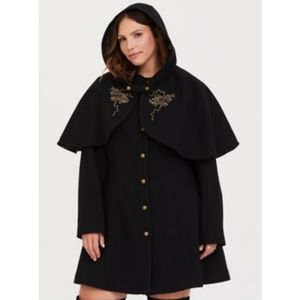 Hot Topic Harry Potter Coat and Cape
